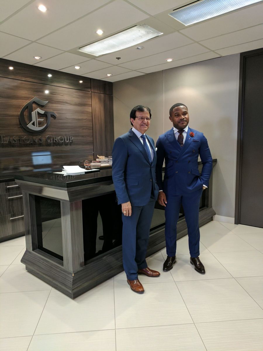 Samuel C. Anyanwu | President/CEO & Broker of Record, Starion Realty Inc., with Dr. Steve Gupta | President/CEO of The Eastons & The Gupta Group